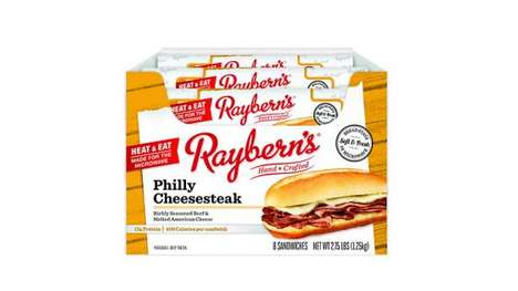 Prepackaged Heat-and-Eat Sandwiches