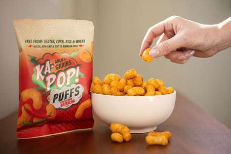 Free-From Snack Puffs