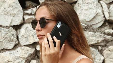 Customized Leather Device Protectors