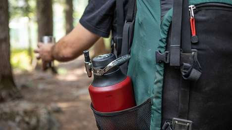 Camper-Friendly Beverage Kegs