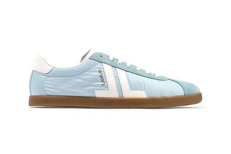 Retro Nylon-Blended Sneakers