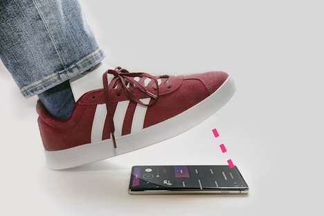Mobile Foot Pedal Apps