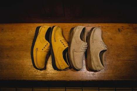 Archival Neutral Tonal Footwear
