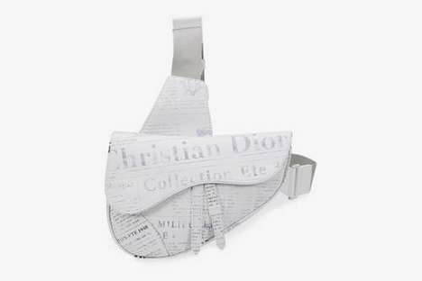 Luxury Newspaper-Printed Bags