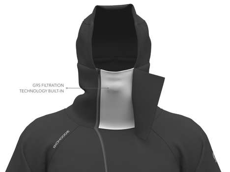 Mask-Integrated Hoodies