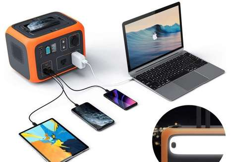 Qi-Enabled Emergency Battery Packs