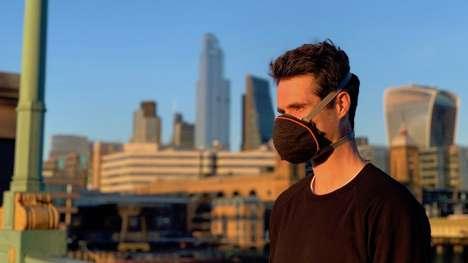 Pollution-Filtering Face Masks