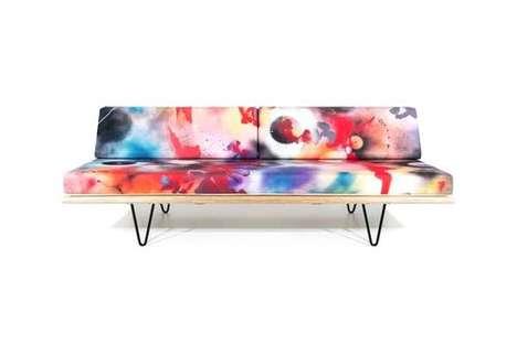 Colorful Modern Furniture Capsules