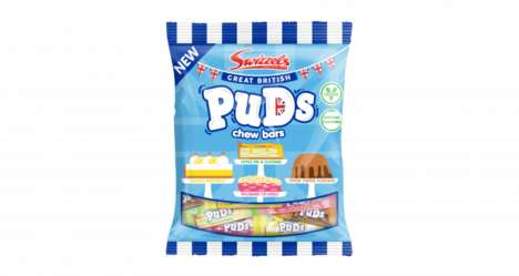 Pudding-Inspired Candy Chews