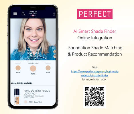 AI-Matched Makeup Shades