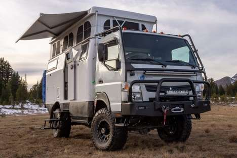 Feature-Rich Overland Camper Vehicles