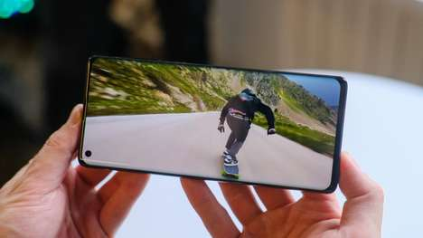 Curved OLED Display Smartphones