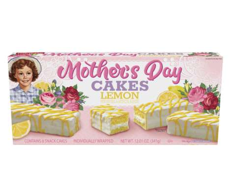 Mother's Day Snack Cakes