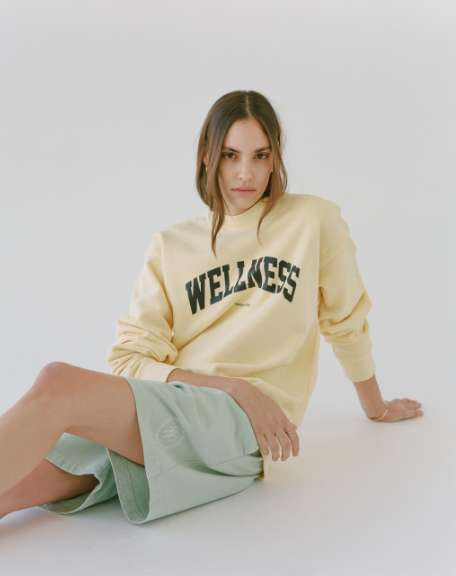 Collegiate-Inspired Pastel Sweatshirts