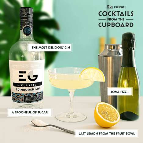 At-Home Cocktail Inspirations