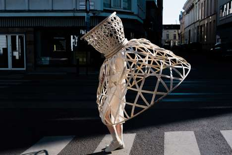 Wearable Rattan Cages