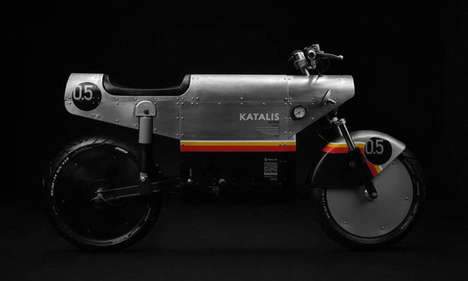 Retro-Styled Electric Motorcycles