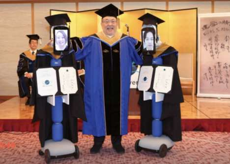 Avatar Robot Graduation Ceremonies