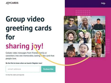 Group Video Greeting Cards