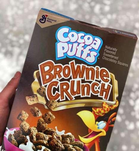 Chocolaty Brownie Bites Cereals
