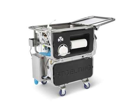 Self-Contained Foodservice Appliance Cleaners