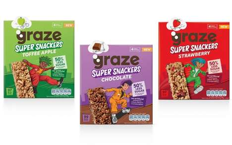 Kid-Friendly Low-Sugar Snack Bars