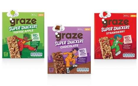 Kid-Friendly Low-Sugar Snack Bars