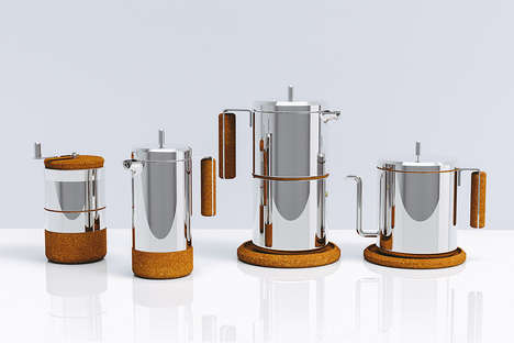 Scandinavian-Inspired Coffee Pots