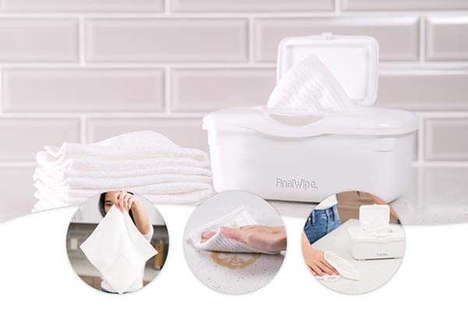 Reusable Sanitizing Wipes