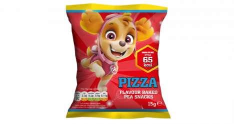 Healthy Toddler Pea Snacks