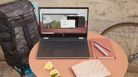 Workflow-Enhancing Laptops