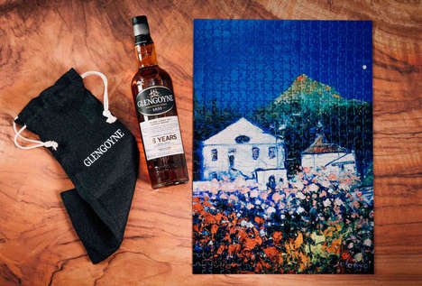 Limited-Edition Distillery Puzzles