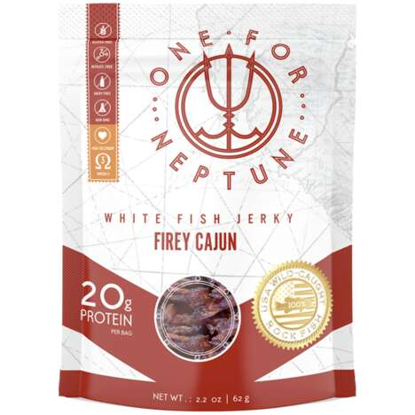 Flavorful White Fish Jerky