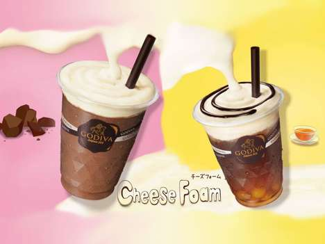 Textural Cheese-Topped Drinks
