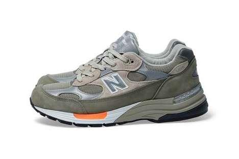 Militaristic Tonal Casual Sneakers
