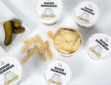 Small-Batch Vegan Hummus Spreads
