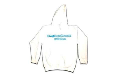 Playfully Phrased Cotton Hoodies