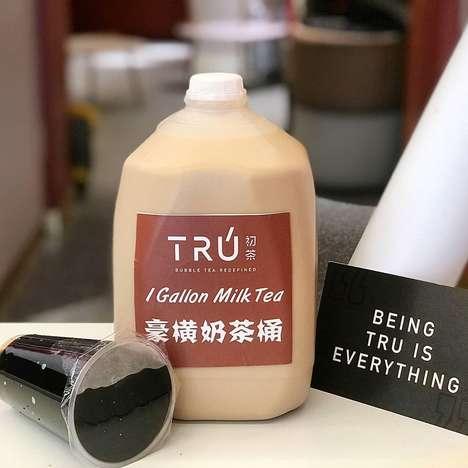 Bulk Milk Teas