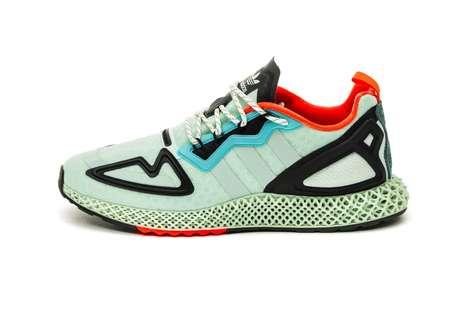 Retro-Tinged Futuristic Sneakers