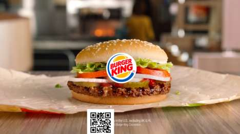 Coded Burger Advertisements