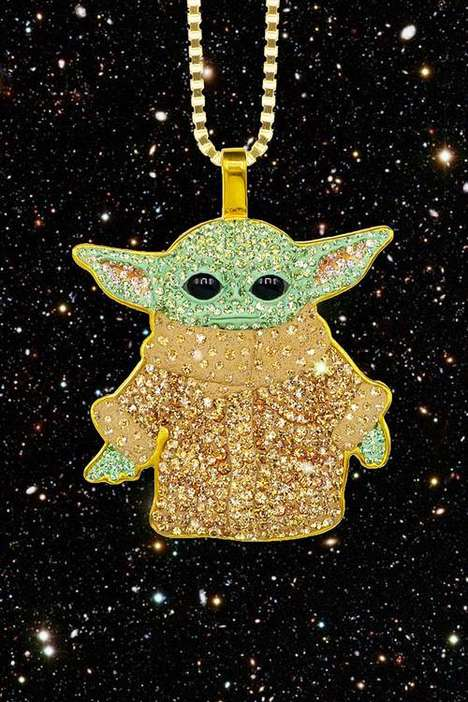 Sci-Fi Character Jewelry Pendants