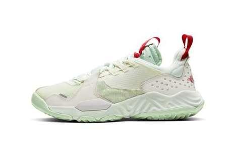 Utilitarian Minty Lifestyle Sneakers