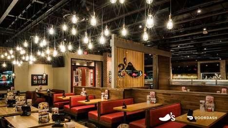 Restaurant-Inspired Virtual Backgrounds
