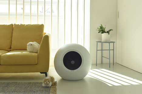 Spherical Litter Boxes