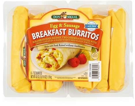 Antibiotic-Free Breakfast Burritos