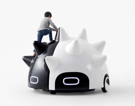 Self-Driving Mobile Playgrounds