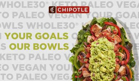 Fitness-Focused Lifestyle Bowls