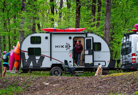 Athletic Adventurer Camping Trailers