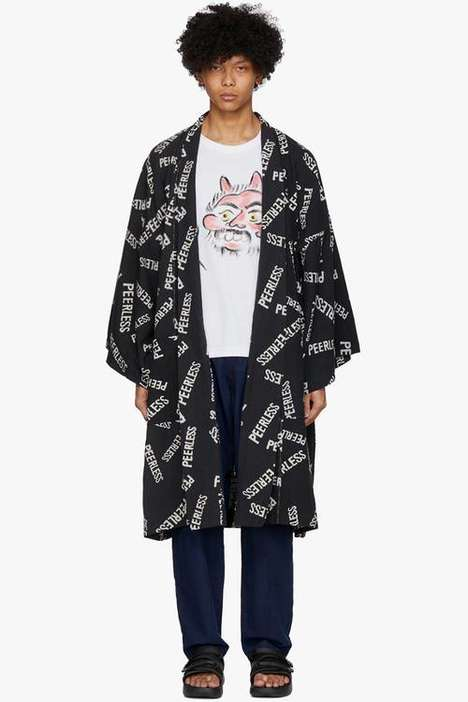 Blanket-Themed Cotton Coats