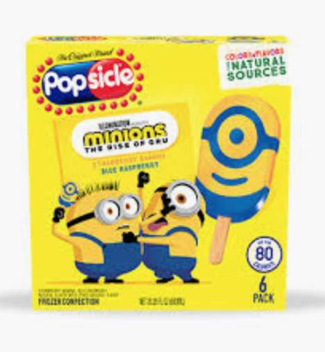 One-Eyed Cartoon Popsicles